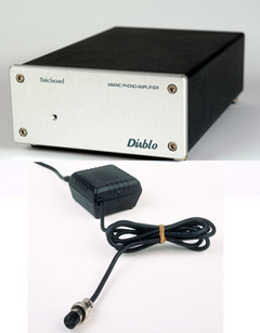 Trichord Research Ltd. Diablo phono stage with toroidal PSU
