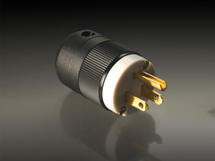 MS HD Power MS-515G 24K Gold UL 15A Plug